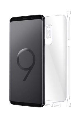 AntDesign Samsung Galaxy S9 Plus TPU Arka Ve Yan Yüz Ekran Koruyucu Film