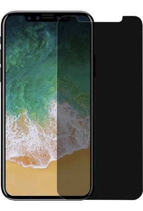 Piili Privacy Gizli Görünmez iPhone X Ekran Koruyucu Cam