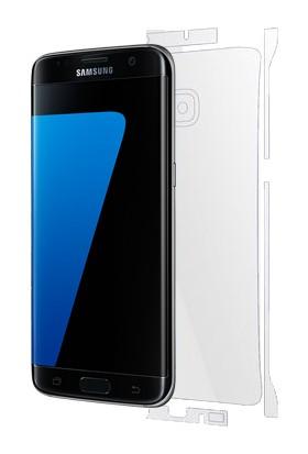 Piili Samsung Galaxy S7 Edge TPU Arka Ve Yan Yüz Koruyucu Film
