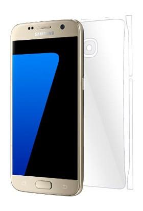 Piili Samsung Galaxy S7 TPU Arka Ve Yan Yüz Koruyucu Film