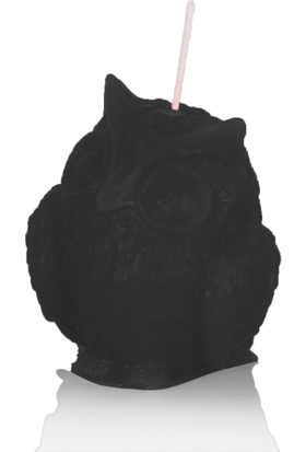 Zeyrek Baykuş Mum Siyah