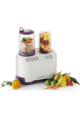 Weewell WPF660 Petit Chef - Sterilizatör - Mama Isıtıcı - Sebze Pişirici - Blender