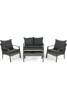 Hepsiburada Home Sunshine Rattan Sofa Set