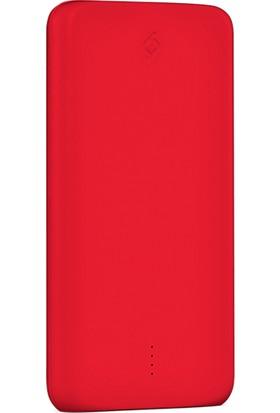 TTec PowerSlim 10000mAh Taşınabilir Şarj Aleti - Kırmızı 2BB133K