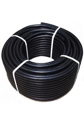Karbonplast Plastik Spiral Boru 18 mm 50 mt
