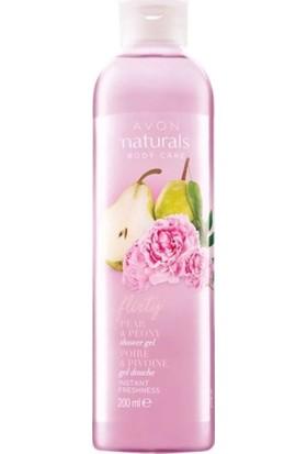 Avon Naturals Body Care Armut Ve Şakayık Duş Jeli 200 ml