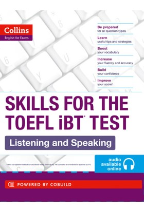 Collins Skills for the TOEFL iBT Listening and Speaking +audio online