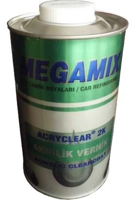 Megamix 2K Akrilik Vernik 1 litre