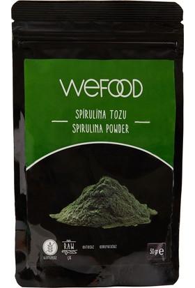 Weefood Amerikan Spirulina Tozu Wefood 50 gr