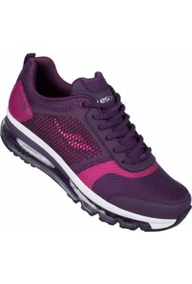 Lescon L-6107 Mürdüm Bayan Airtube Spor Ayakkabı