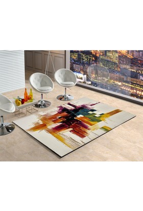Merinos Opal Picaso Modern Renkli Halı 160x230 cm