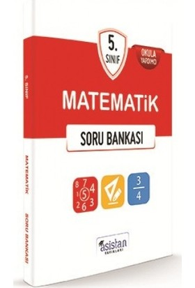 Asistan Yayınları 5.Sınıf Matematik Soru Bankası