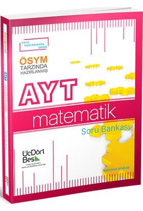 ÜçDörtBeş Yayınları AYT Matematik Soru Bankası