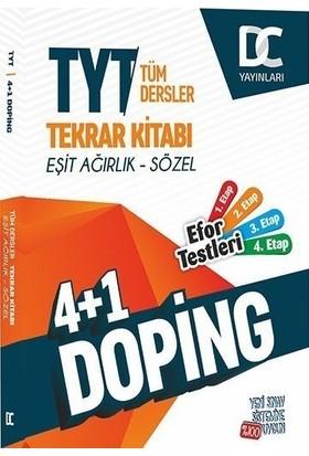 Doğru Cevap Yayınları Tyt Eşit Ağırlık Sözel 4+1 Doping Tekrar Kitabı