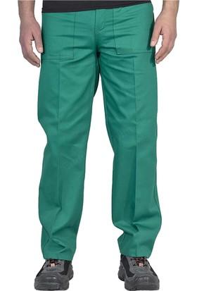 Şensel İş Pantolonu Komando Cepli İş Elbiseleri (Yeşil)