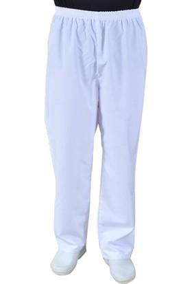 Şensel Şalvar Pantolon ( Beyaz )