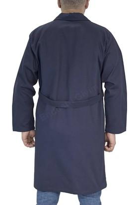 Şensel Erkek İş Önlüğü Gabardin İş Elbiseleri %100 Pamuk Lacivert