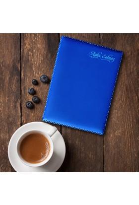 Leydi Collection Kişiye Özel Mavi Ruhsat Cüzdanı
