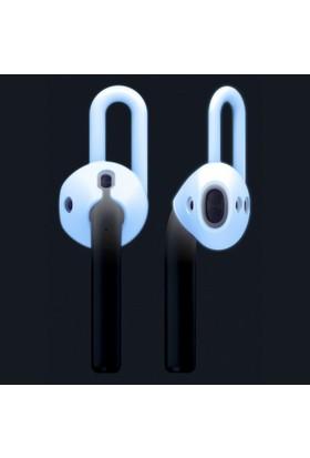 Elago Airpods Kulaklık Kancaları Airpods Earpad Cover Night Glow - Fosforlu
