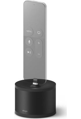 Elago D Stand Apple TV(Siri) / iPhone / iPad Mini Dock Şarj Standı - Siyah