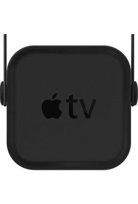 Elago Apple TV 4.Nesil İçin Silikon Kılıf - Siyah