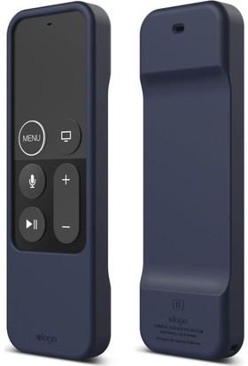 Elago Apple TV Siri Remote (Kumanda) İçin Silikon Kılıf - Lacivert