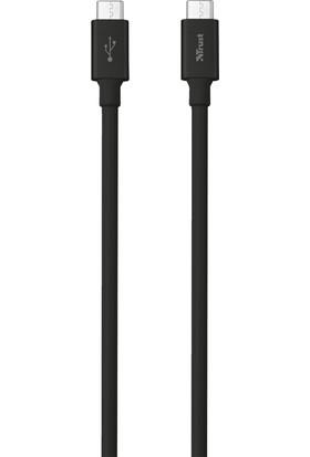 Trust 21595 USB-C To USB-C 480MBS Kablo - 1 m