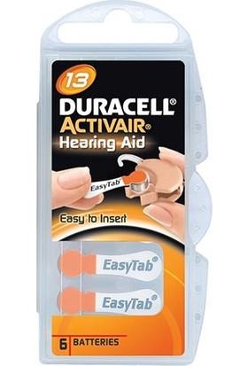 Duracell Activair 13 No Kulaklık Pilı 6'Li Paket