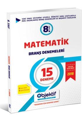 Lgs 8.Sınıf Matematik Branş Denemeleri -15 Deneme