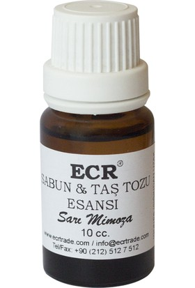 Ecr Sabun Ve Taş Tozu Esansı Sarı Mimoza