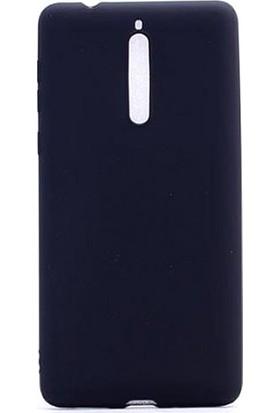 Microcase Nokia 8 Premium Mat Soft Silikon TPU Kılıf