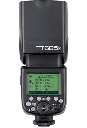 Godox TT685N ( Nikon Uyumlu TTL Flaş )
