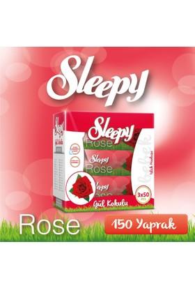 Sleepy Gül Kokulu Islak Mendil 3 Adet (3x50 Yaprak)