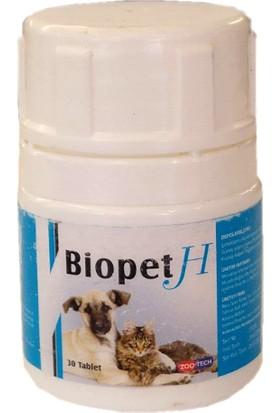 Zootech Biopet H Kedi Köpek Biotin Çinko Tablet 30 Adet