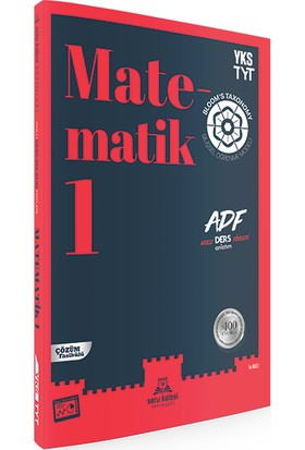 Tyt Matematik Adf - Akıllı Ders Anlatım Föyleri - Soru Kalesi Yayınları