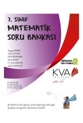 Koray Varol Akademi KVA 7. Sınıf Matematik Soru Bankası