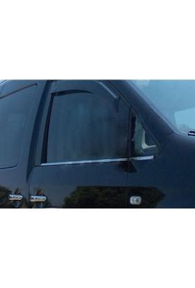 Arabamsekil Volkswagen T5 Caravelle Krom Cam Çıtası 2003-2010