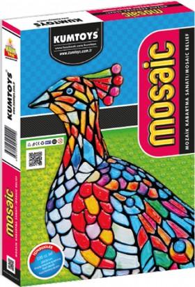 Kumtoys Mosaik Kabartma Başlangıç Seti - Kuş