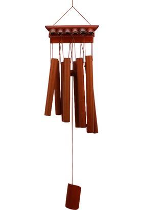 Dekodem Bambu Rüzgar Çanı Tavan Süsü