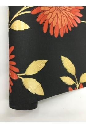 1026 Decohome Çiçek Desenli Duvar Kağıdı
