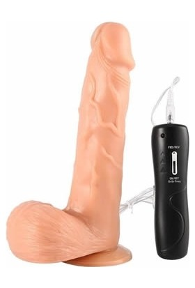 Xise Oynar Başlı Titreşimli Realistik Vibratör Gerçekçi Penis Dildo
