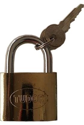 Tudor Gold Asma Kilit 50 Mm 3 Anahtarlı