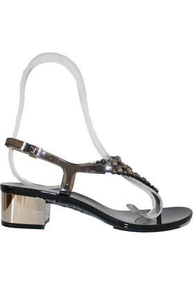 Menghi 703 Swarovski Sandalet
