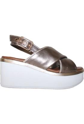 Efem 8679 Deri Sandalet