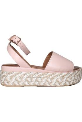 Efem 8909 Deri Sandalet