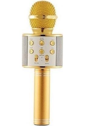 Twinix Karaoke Bluetooth Mikrofon - Gold