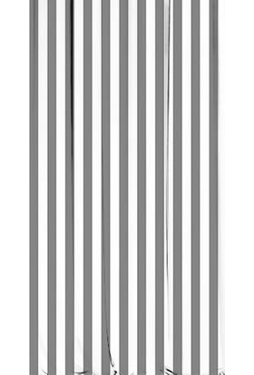 Kozzy Home RFE438 Saten Baskılı Tek Kanat Fon Perde - Gri -Beyaz 135x 270 cm