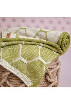 Efgima Rüzgar Bebek Battaniyesi Bej - Açık Yeşil