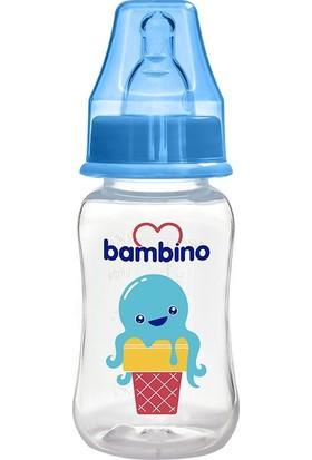 Bambino Kavramalı PP Biberon 150 ml Mavi Dondurma