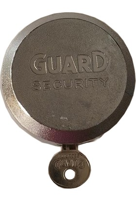 Guard Securyity Yüksek Güvenlikli Yuvarlak Gizli Hokey Puck Kilitli Çelik Asma Kilit